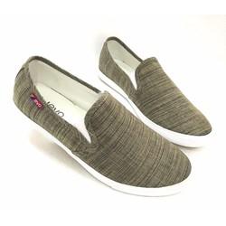 Giày lười vải cao cấp trẻ trung năng động AD123X