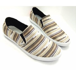 Giày lười vải cao cấp trẻ trung năng động AD124N