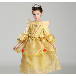 Đầm công chúa Belle phim Người đẹp và Quái Vật