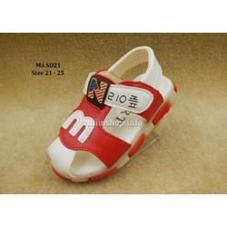 Dép sandal kiểu chữ m cho bé trai 1 - 3 tuổi SD21