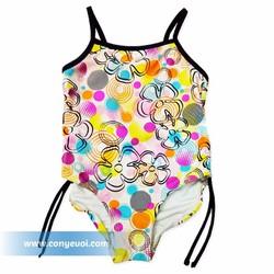 Đồ bơi cho bé liền quần nhiều màu sắc