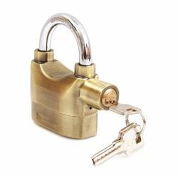 Ổ khóa báo động chống trộm Kinbar cao cấp Vàng Đồng