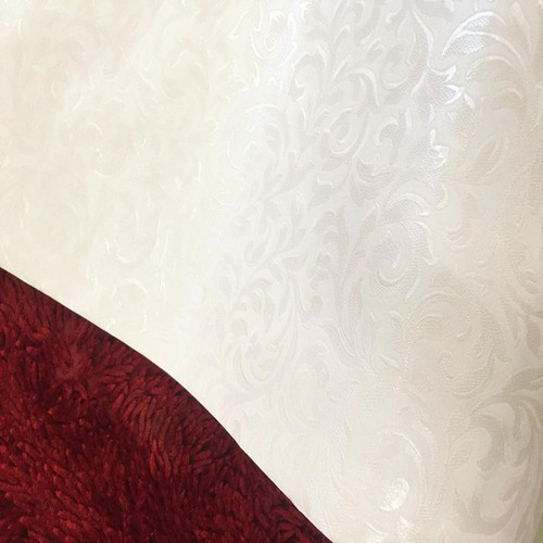 Combo 5m Giấy dán tường họa tiết trắng 1 BINBIN  DTL51