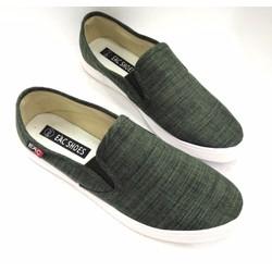 Giày lười vải cao cấp trẻ trung năng động AD123Đ