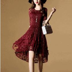 Đầm xòe công chúa cực xinh NX124