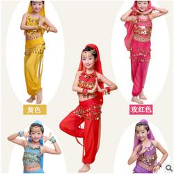 Bộ quần áo Ấn Độ cho bé hóa trang, biểu diễn belly dance