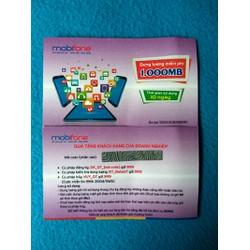 Thẻ 3G Mobifone- 1GB