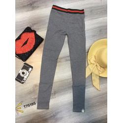 quần legging lưng màu siêu hot-Hàng Qc