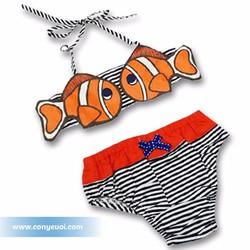 Đồ bơi cho bé bikini Yo-lin Thái Lan hình cá