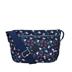 Túi đeo chéo Kipling họa tiết gấu K230 - Màu xanh đậm