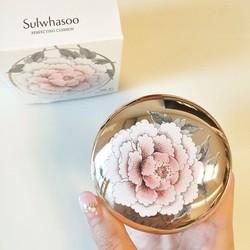 Phấn nước Sulwhasoo Perfecting Cushion Limited Edition 21 Medium pink