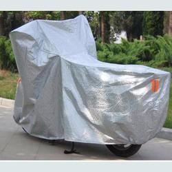Bạt phủ xe máy tráng nhôm 3D