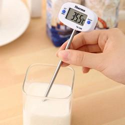 Dụng cụ đo nhiệt độ sữa, thức ăn cho trẻ