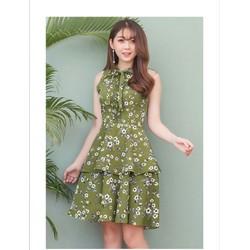 Đầm Xòe Hoa Vintage