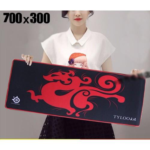 Lót Chuột Tyloo Khổng Lồ 30cmx70cm Dày 4 Ly May Viền