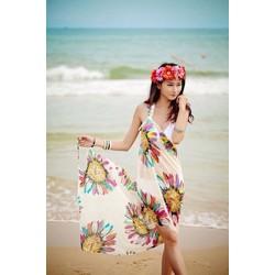 Khăn tắm đi biển Hoa Hướng Dương