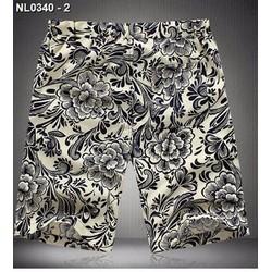 Quần lửng nam họa tiết hoa Mã: NL0340 - 2