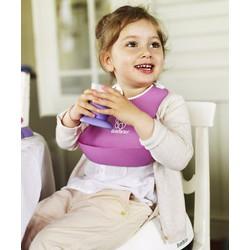 Yếm nhựa ăn dặm có máng hứng cho bé
