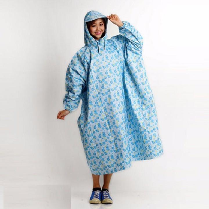 áo mưa không xẻ tà 3
