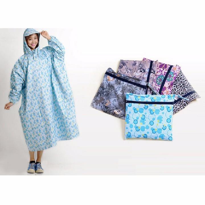 áo mưa không xẻ tà 5