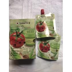 Mặt nạ dưỡng da cà chua Smooto 1 hộp 2 tuýt