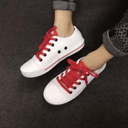 Giày bata nhựa nữ không thấm nước đi mưa