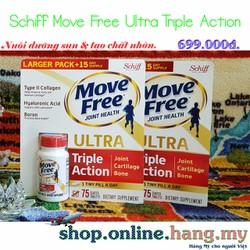 Viên bổ khớp Schiff® Move Free Ultra 75 viên