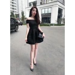 Đầm bẹt vai hàng Thái