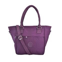 Túi xách Kipling quai tròn - Màu tím đậm