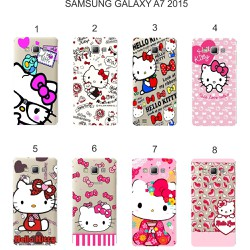 Ốp lưng Samsung Galaxy A7 2015 in hình Kitty