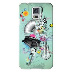 Ốp lưng điện thoại Samsung-Galaxy S5-Music