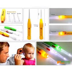 Bộ 03 dụng cụ lấy ráy tai có đèn
