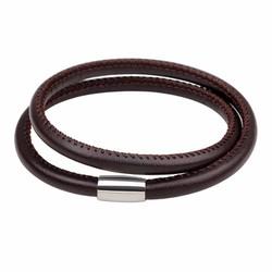 Vòng đeo tay nam dây da trơn - PK177