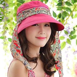 Combo 2 mũ kèm khẩu trang chống nắng