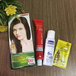 Thuốc nhuộm tóc Thái Lan Nâu đen