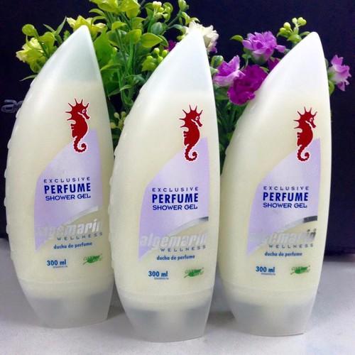 Sữa tắm chống lão hóa cá ngựa Algemarin Perfume  Đức