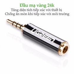 Đầu chuyển đổi Ugreen 20501 2.5mm đực sang 3.5mm cái