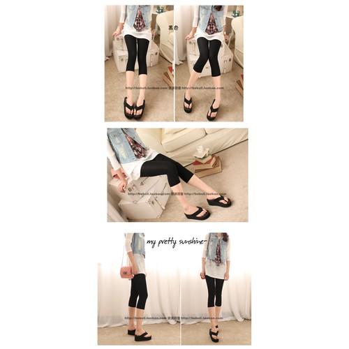 Quần lửng legging bầu