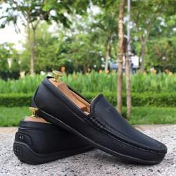 Giày Lười Nam Đen
