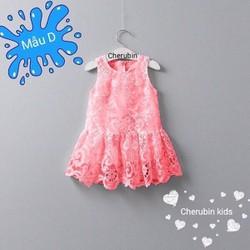 Đầm ren xinh cho bé diện mùa hè