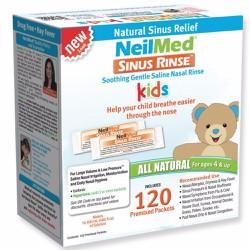 Hộp 120 gói muối rửa mũi trẻ em NeilMed Sinus Rinse