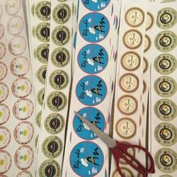 Thiết kế và in tem trong