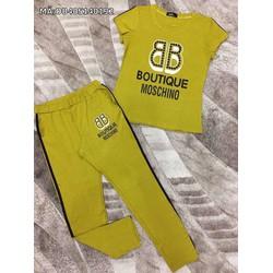 Đồ bộ quần dài tay ngắn BB
