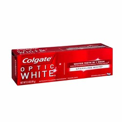 Kem đánh răng Colgate Optic White Whiter Teeth in 1 Week 141g