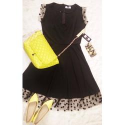 Đầm xòe đẹp, hàng thiết kế Classic Black