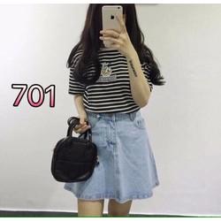 Váy jean size s,m,l - A28886