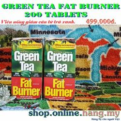 Trà xanh giảm cân Green Tea Fat Burner 200 viên