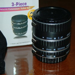 Macro Extension Tube set AF for Canon