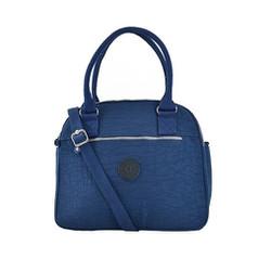 Túi xách quai tròn Kipling K190 - Màu xanh đen