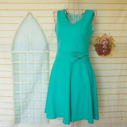 Đầm Đẹp Giá Rẻ Thun Cát Hàn